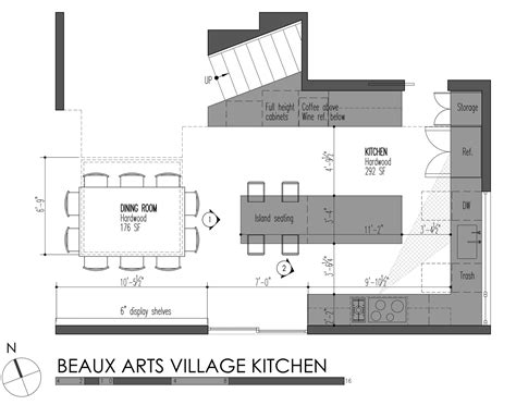 House Layout Design Principles by Kitchen Layout Measurements Admirable Modern Designs