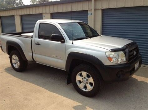 car engine manuals 2008 toyota tacoma navigation system sell used 2008 toyota tacoma 4x4 standard cab pickup 2 door 2 7l in sonora california united
