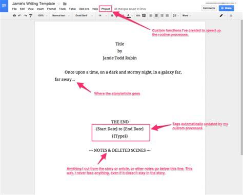How I Use Google Docs For Writing Jamie Todd Rubin Screenplay Template Docs