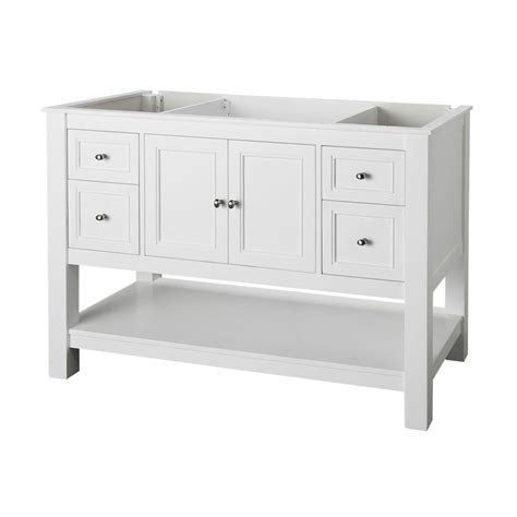 48 inch sink vanity top only home decorators collection gazette 48 in w bath vanity