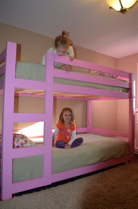 Girly Bunk Beds by White Girly Bunk Beds Diy Projects