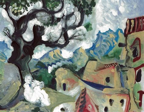 pablo picasso nature paintings pablo picasso landscape in the provence 1965 at sammlun