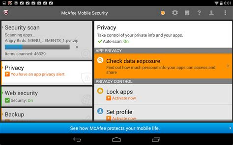 mobile mcafee security mcafee mobile security soft for android free