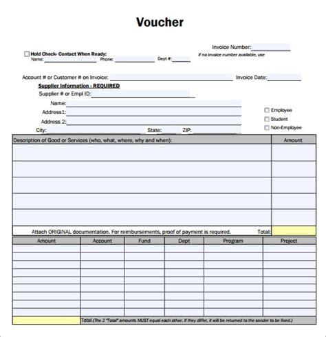 payment voucher template 7 free payment voucher templates excel pdf formats