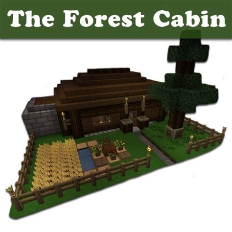 minecraft house designs step by step minecraft building designs the forest cabin step by step blueprint and video