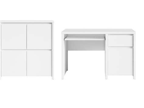 office study furniture set white gloss or white matt