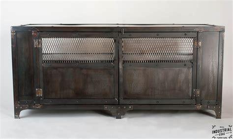 industrial media cabinet custom industrial chic media cabinet steel 2 door real
