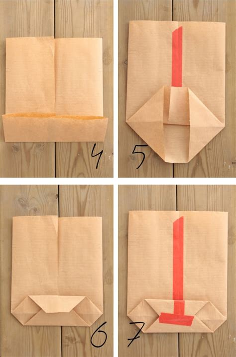 How To Make A Paper Gift Bag Templates - 25 best ideas about diy paper bag on paper