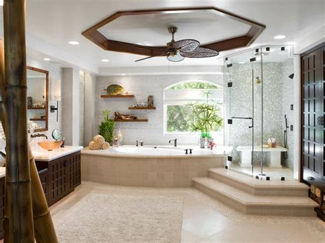 bathroom spa ideas luxurious showers bathroom ideas designs hgtv