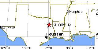 where is kilgore texas on the map kilgore texas tx population data races housing economy
