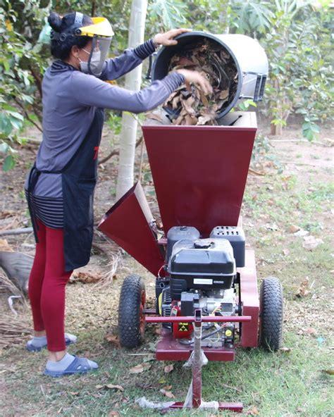 garden mulcher chipper  thailand isaan forum