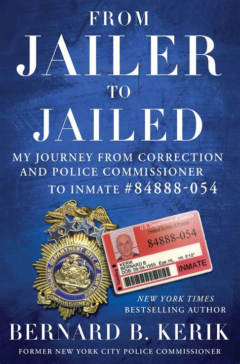 cops cons and grace a s journey through his s books from jailer to jailed book by bernard b kerik