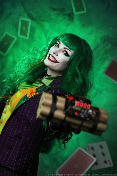 imagenes de joker girl awesome female joker cosplay