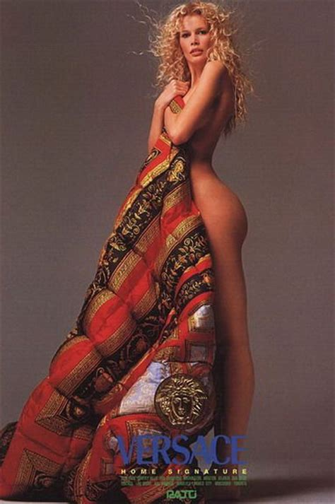 Classic Footage Seymour Photographed By Richard Avedon 1994 by Schiffer For Versace By Richard Avedon 1994