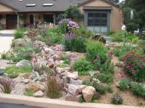 Front Yard Rock Garden Habitat Awards Residential Gardens Part Ii Audubon Rockies