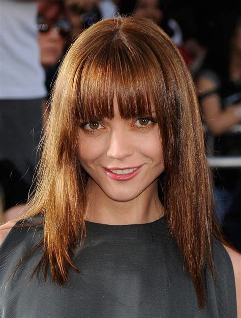 hairstyles with bangs on round faces 25 long hairstyles with bangs are the best for round faces