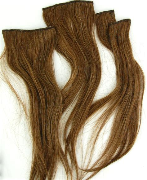 Light Brown Hair Extensions by Irresistible Me Royal Remy Clip In Hair Extensions In