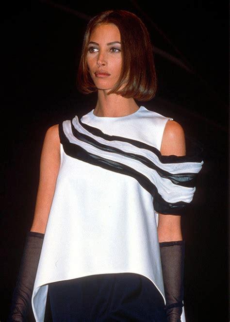pics of christy turlington when she had short hair kendall jenner reveals inspiration behind new bob haircut