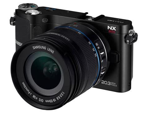 samsung nx200 spiegellose kamera mit 20 mp foerderland