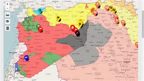 syria map syria civil war map 21 10 2017 syrian civil war map
