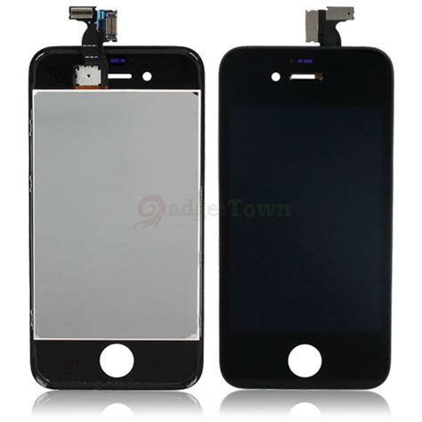 lcd display touch screen digitizer glass assembly  iphone  black ebay