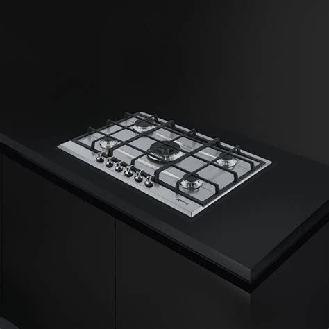 piano cottura 5 fuochi 70 cm smeg piano cottura 70 cm 5 fuochi p372xgh fidea lecce
