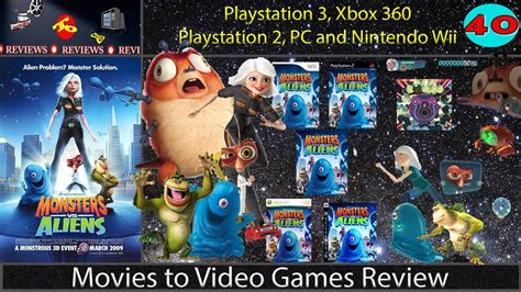 wii vs ps2 which has to review monsters vs aliens ps3