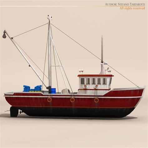 fishing boat model fishing boat 3d model