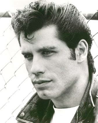 men hairstyles from 50s and 60s travolta takes care of hair loss