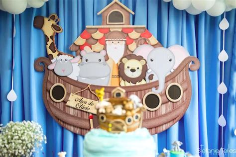 animal cut outs noah s ark birthday party ideas kara s party ideas noah s ark birthday party kara s