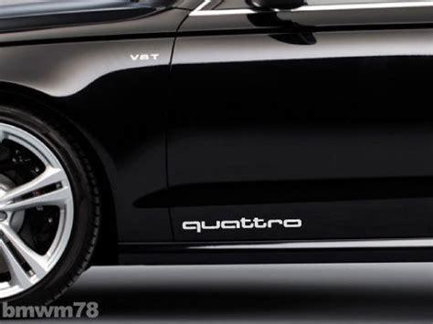 Audi A5 Quattro Aufkleber by Supdec Graphix