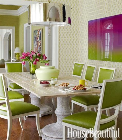 green dining rooms spring color palette sensational color