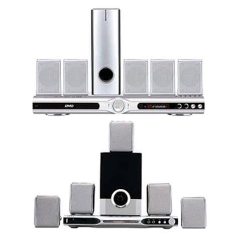 home theater system with 5 1ch divx karaoke dvd player