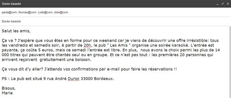 Invitation Letter En Francais Comment Commencer Un Mail Formel En Anglais