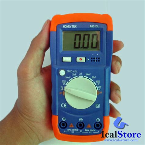 Alat Ukur Sigmat Digital alat ukur kapasitor digital capasitor meter a6013l ical store ical store