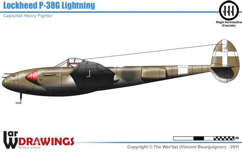 lockheed p 38g lightning