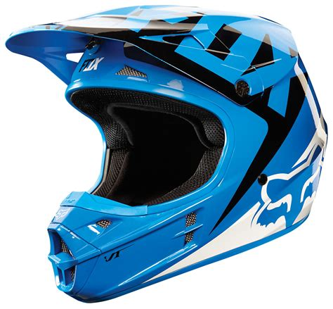 motocross racing helmets fox racing v1 race helmet 2015 revzilla