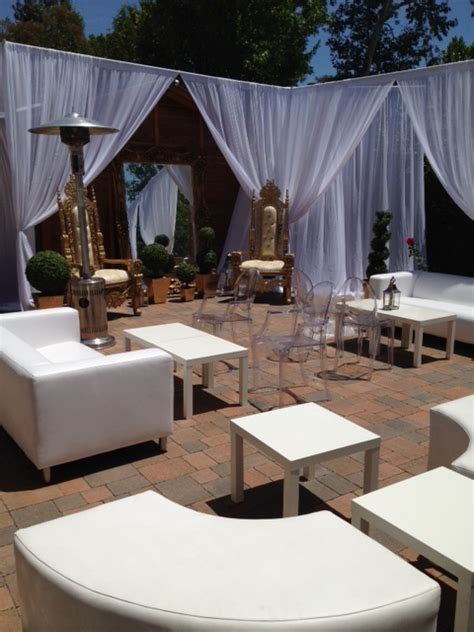 event couches unique wedding furniture rental los angeles 818 636 4104