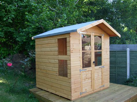 Small Summer House Shed by Shed King Liverpool Sheds Timber Buildings Garden