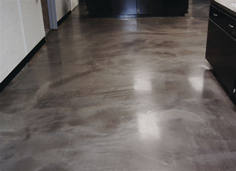 Increte Systems Metal FX Epoxy Flooring System in