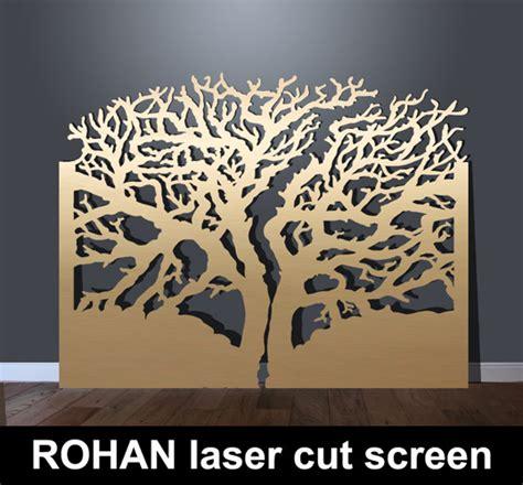 ROHAN laser cut metal screens in tree design ? laser cut