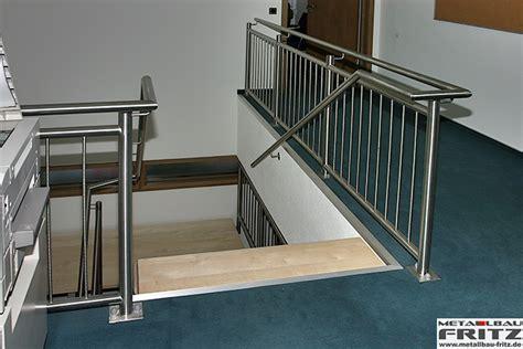treppe edelstahlgeländer treppe innen 11 07 metallbau fritz