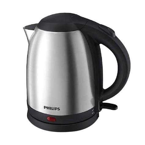 Kettle Listrik Stainles jual daily deals philips hd9306 kettle listrik silver harga kualitas terjamin