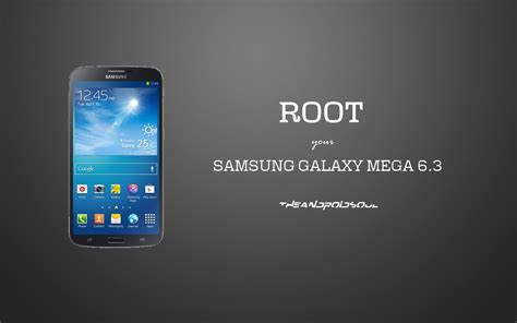 Home Samsung I9200 Mega 6 3 root samsung galaxy mega 6 3 gt i9200 with pre rooted kernel