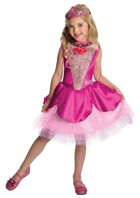 girls fancy dress halloween costumes the costume land barbie deluxe kristyn girls halloween costume 29 99
