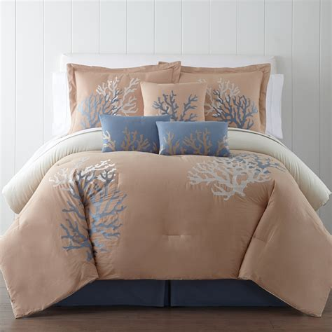 panama coral seas 7 comforter set reviews