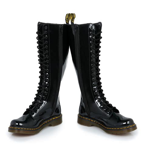 dr martens black 1b60 boots leather womens sizes 3 9 ebay
