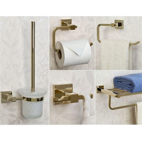 Bathroom Hardware Accessory Set Albury 5 Bathroom Accessory Set Bathroom