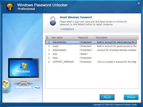 reset a vista password how to reset win 7 password with a usb flash drive