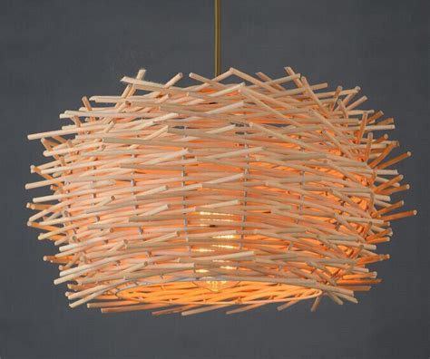 Mini Globe Metal Bamboo Pendant Ceiling Light Chopsticks